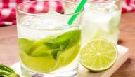 طريقة عمل عصير الليمون مع النعناع