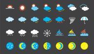 ما هي احوال الطقس