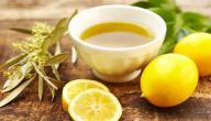 فوائد عصير الليمون مع زيت الزيتون