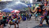 تاريخ عيد الماء في تايلند