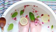 فوائد غسل القدمين بالماء والملح