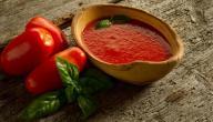 تحضير صلصة الطماطم