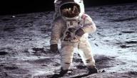 أول عالم فضاء نزل على سطح القمر