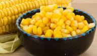 فوائد ومضار الذرة