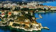 مدينة كورفو في اليونان