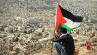 مدينة نابلس في فلسطين