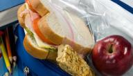 طرق إعداد سندويشات المدرسة