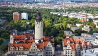 مدينة لايبزغ في ألمانيا