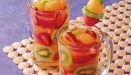 طرق صنع عصير الفواكه