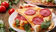 طريقة البيتزا الرقيقة