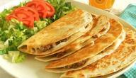 وصفات بخبز التورتيلا