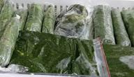 طرق تخزين الملوخية الخضراء