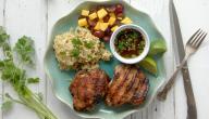 طريقة صدور الدجاج مع الأرز