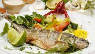 أطباق سمك الهامور