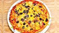 طرق عمل البيتزا السائلة