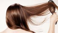 القهوة لتطويل الشعر