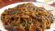 طريقة طبخ النودلز الكوري