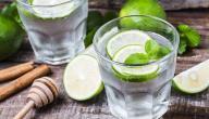 طريقة عصير الليمون والنعناع