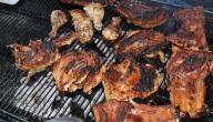 طريقة شوي الدجاج على الجمر