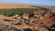 مدينة تنغير في المغرب