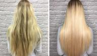 فوائد فرد الشعر بالبروتين