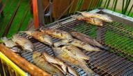 طريقة عمل سمك هامور مشوي