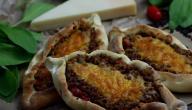 طريقة عمل صفيحة اللحم اللبنانية