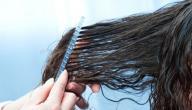 طريقة لفرد الشعر الجاف