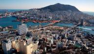 مدينة بوسان في كوريا الجنوبية