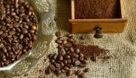 طريقة وضع القهوة على الشعر