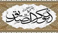 دعوة أبو بكر للإيمان