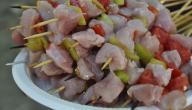 طريقة عمل الشيش طاووق بأوراك الدجاج