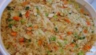 طريقة عمل حشوات الأرز