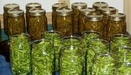 طريقة تخليل الفاصولياء الخضراء