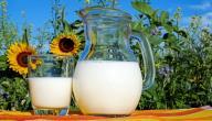 فوائد الحليب لزيادة الطول