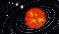 أسماء وعدد كواكب المجموعة الشمسية
