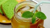 فوائد الشاي الأخضر المثلج