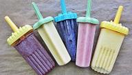 عمل المثلجات في البيت