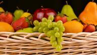 كم عدد السعرات الحرارية في الفواكه