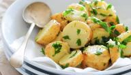 كيفية عمل سلطة البطاطس