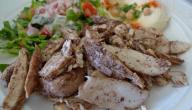 كيفية عمل صينية شاورما الدجاج