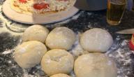 مكونات عجينة البيتزا الإيطالية الأصلية