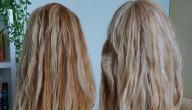 كيفية تنعيم الشعر الجاف