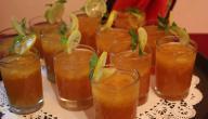 مكونات عصير التمر الهندي