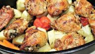 طريقة عمل فطائر أفخاذ الدجاج