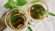 ما هي مكونات شاي غصن البان