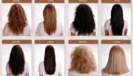 كيفية تمليس الشعر المجعد