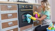 كيفية تنظيف الفرن