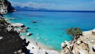 سواحل جزيرة سردينيا