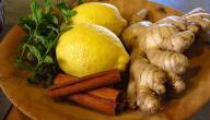 طريقة عمل عصير الزنجبيل والليمون